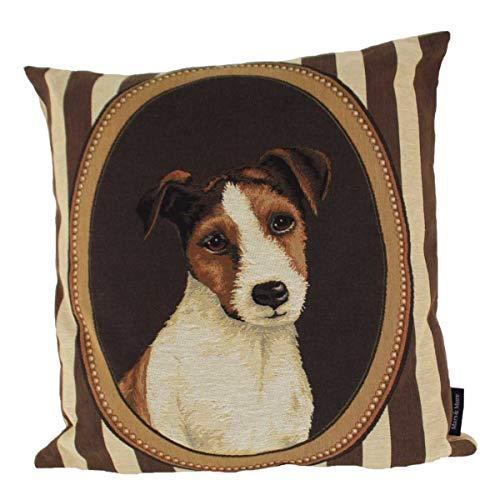 440s Mars & More Gobelin Passepartout Jack Russell Terrier ca. 45x45 cm | MM-EVKSPPJRS | 8716522070583