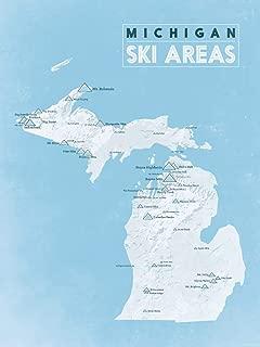 Best michigan ski resorts map Reviews
