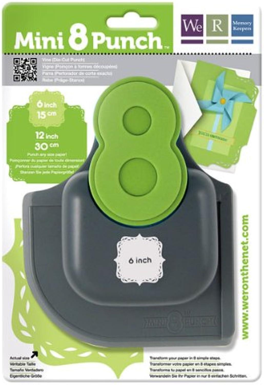 Stanzt WE R Memory Keepers Vine Mini 8 Punch Punch Punch B0091XOCOW | Verschiedene Stile und Stile  a3e11e