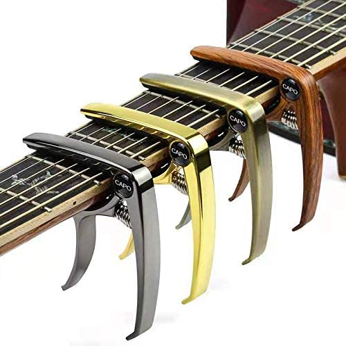 Guitar Capo 4 Pack 4 color a set Guitar Capo for Acoustic and Electric Guitars Ukelele Bass product image