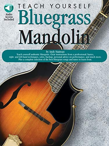Teach Yourself Bluegrass Mandolin [With Audio CD]