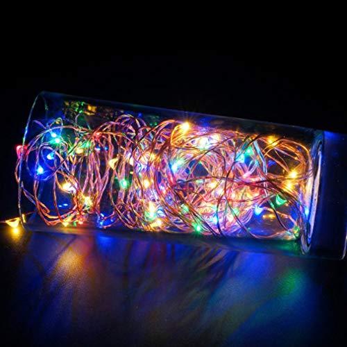 10 meter 100 lichtjes USB koperdraad string decoratie lichten LED party decoratie creatieve lichtketting
