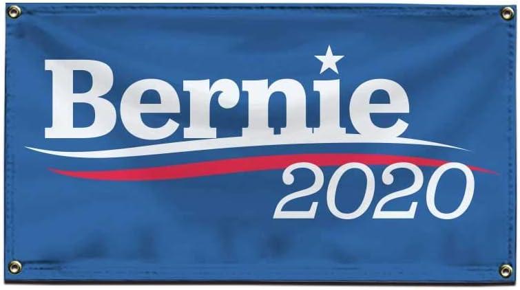 Bernie 2020 Vinyl Banner 2 Feet safety Pre x Sanders 4 for Popular standard