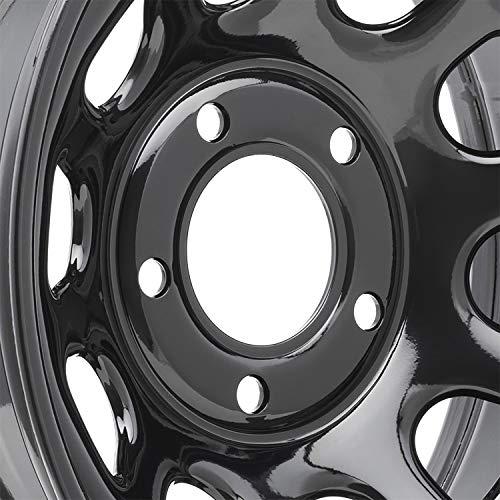 "Pro Comp Steel Wheels Series 51 Wheel with Gloss Black Finish (15x8""/5x4.5"")"