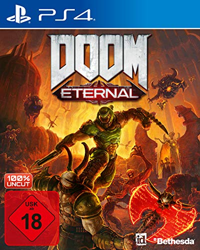 DOOM Eternal inkl. Metal Plate (Exkl. bei Amazon) - PlayStation 4 [Edizione: Germania]