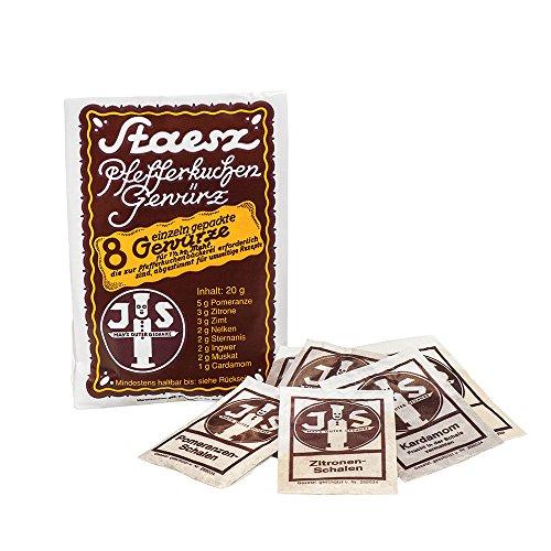 Boomers Gourmet - Pfefferkuchengewürz von Staesz - 1 Beutel - 20 g