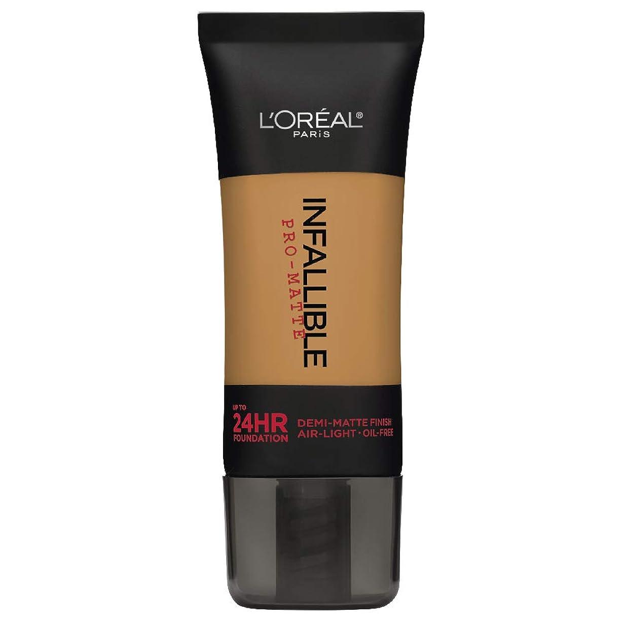 ミシンストラトフォードオンエイボンラッシュL'Oreal Paris Infallible Pro-Matte Foundation Makeup, 109 Classic Tan, 1 fl. oz[並行輸入品]