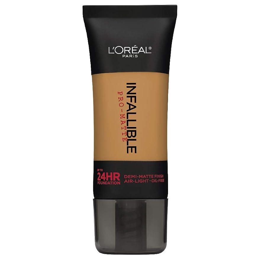 販売計画広々拮抗L'Oreal Paris Infallible Pro-Matte Foundation Makeup, 109 Classic Tan, 1 fl. oz[並行輸入品]