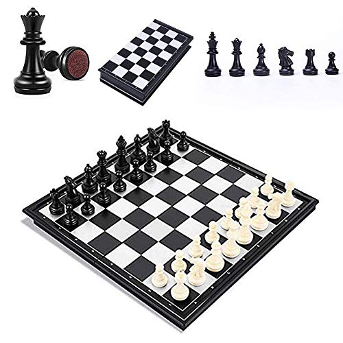 Magnetische International Chess Board Tischspiele Set Stück Geschenk