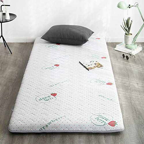 YUMUO Futon Tatami Mattress, Latex Folding Breathable Mattress Thicken Soft Quilted Sleeping Tatami Floor Mat For Single Student Dormitory Mattress Topper-c 90x200cm(35x79inch)