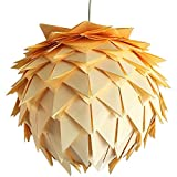 Yellow Harlekin, Ø 35cm, gelbe Papierlampe Hängelampe Lampe Lampenschirm Pendellampe Designerlampe...