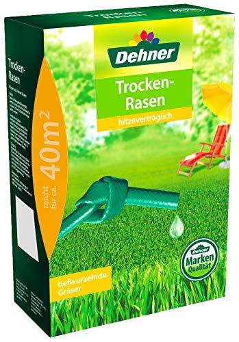 Dehner Rasen-Saatgut, Trockenrasen, 1,25 kg, für ca. 40 qm