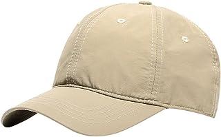 MINAKOLIFE Men Women Sun Hat Peaked Baseball Golf Cap Breathable Anti UV Waterproof Outdoor Quick-Drying Hats
