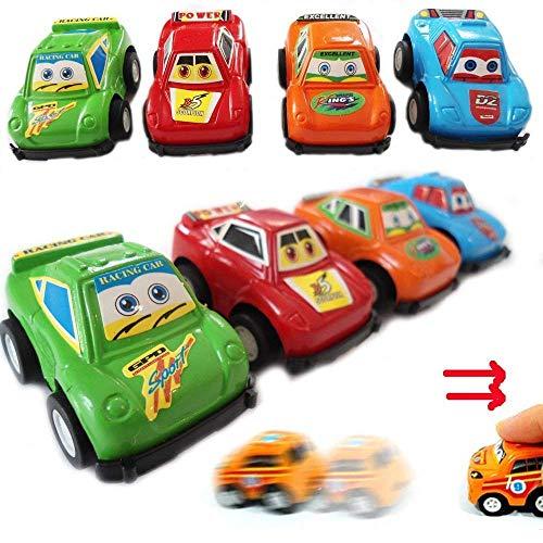 HENBRANDT 6 Garçons Mini Tirer Arrière Voiture / Sac Fête / Garçons Sac de Fête / Lucky Dip Enfants (Loose)