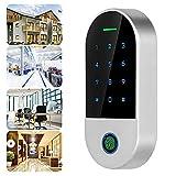 Control de Acceso, Cuatro métodos de desbloqueo Control de Acceso de Alarma Flexible para Tuya Máquina de Control de Acceso Bluetooth para el Sistema de Seguridad del hogar