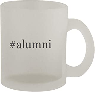 #alumni - 10oz Hashtag Frosted Coffee Mug Cup, Frosted