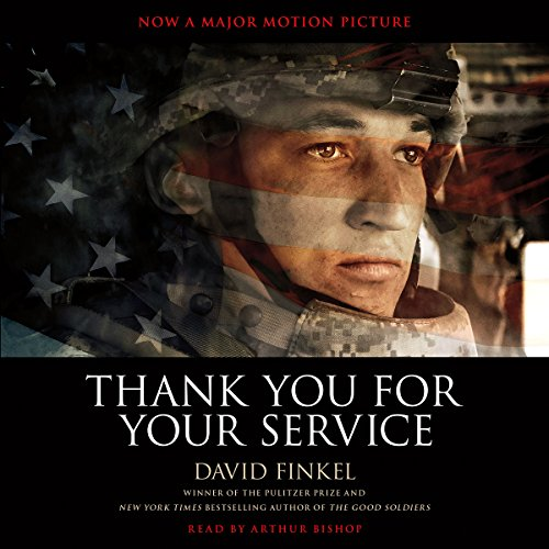 Thank You for Your Service audiobook cover art