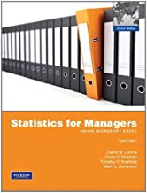 Statistics for Managers using MS Excel: Global Edition