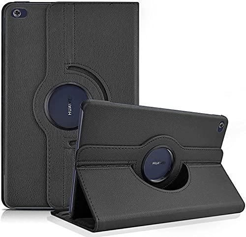 KATUMO 360° Giratoria Funda para Huawei Mediapad M5 Lite 10.1 Pulgadas Funda Libro Cuero Funda para Tablet Huawei M5 Lite 10 Carcasa Mediapad M5 Lite