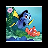 Stick It On Your Wall Findet Nemo–Dori & Marlin Mini