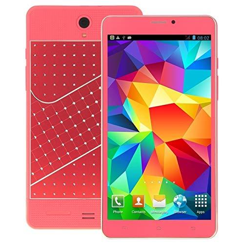 LISUHONG LSHG AYS Fagot K3000 PC de la Tableta de 8 GB, 7 Pulgadas Android 4.4, Dual SIM, WCDMA, GPS (Negro) (Color : Pink)
