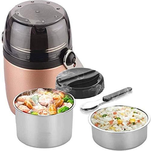 CHENCfanh fiambrera Caja de almuerzo de acero inoxidable termo for comida caliente, 3 Niveles de aislamiento a prueba de fugas de almuerzo del vacío sopa de contenedores de almacenamiento de alimentos