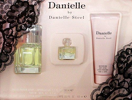 Danielle By Danielle Steel 3-pc set (eau De Parfum Spray 1.7oz & Body Lotion 3.3 oz & Parfum .16 oz Mini)