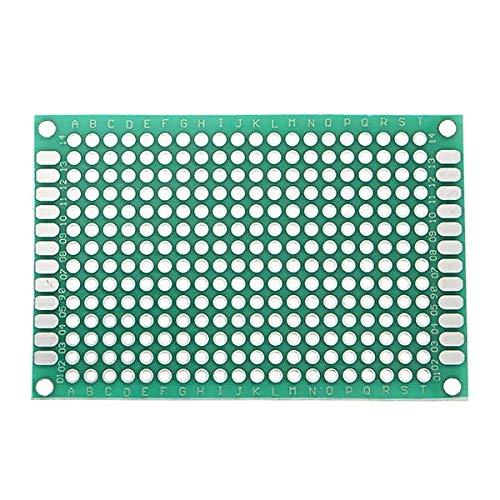 Módulo electrónico 10pcs 40x60mm FR-4 Operación Doble 2,54 Mm Pendiente Prototipo Placa De Circuito Impreso PCB