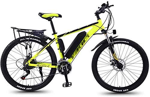 Bicicleta de montaña eléctrica, Bicicletas de montaña eléctrica for adultos, Todo Terreno conmuta el tren de rodaje deportivo de bicicletas de montaña completa 350W trasera del motor de ruedas, 26 ''