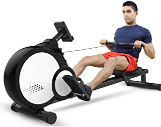 Rowing Machine,8 Levels of Resistance Adjustment Multifunctional Foldable Rowing Machine,Rowing Machine for Home Use Fitne...