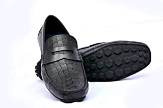 Gentle XACT Leather Loafer Shoes for Boys