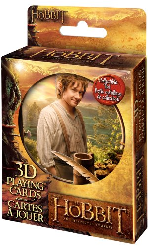 Cartamundi The Hobbit 3D Lenticular Deck in Tin