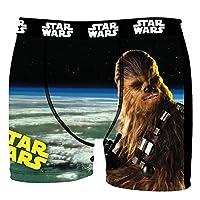 Star Wars - diese Boxershorts sind ein MUSS für jeden Fan Wählen sie die jeweiligen Einzelhosen und /oder die angezeigten Dreierpacks Attraktives Star Wars Logo auf der Hose - MEGA Design's die ihresgleichen suchen Angenehme Microfaser Soft Touch Qua...