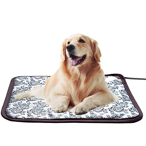 Nanssigy Manta Eléctrica para Perros y Gatos, Pet Electric Blanket, Waterproof, Anti-Bite,...