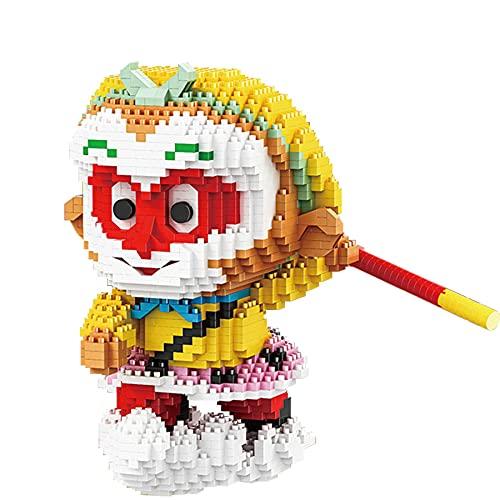 QSSQ AFFE King Micro Building Block Ziegelsteine Pädagogisches Spielzeug Für Kind Geburtstagsgeschenk 1424 Stück