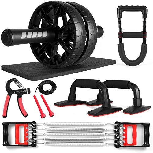 Entrenamiento 6In1 con rodilla, barras de aumento, ejercicio