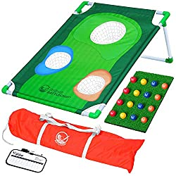 GoSports BattleChip Backyard Golf Cornhole