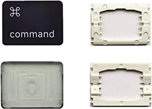 Replacement Individual Right Command Key Cap and Hinges are Applicable for MacBook Pro A1706 A1707 A1708 Keyboard to Replace The Right Command Key Cap and Hinge