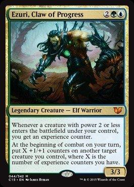 Magic The Gathering - Ezuri, Claw of Progress - Commander 2015