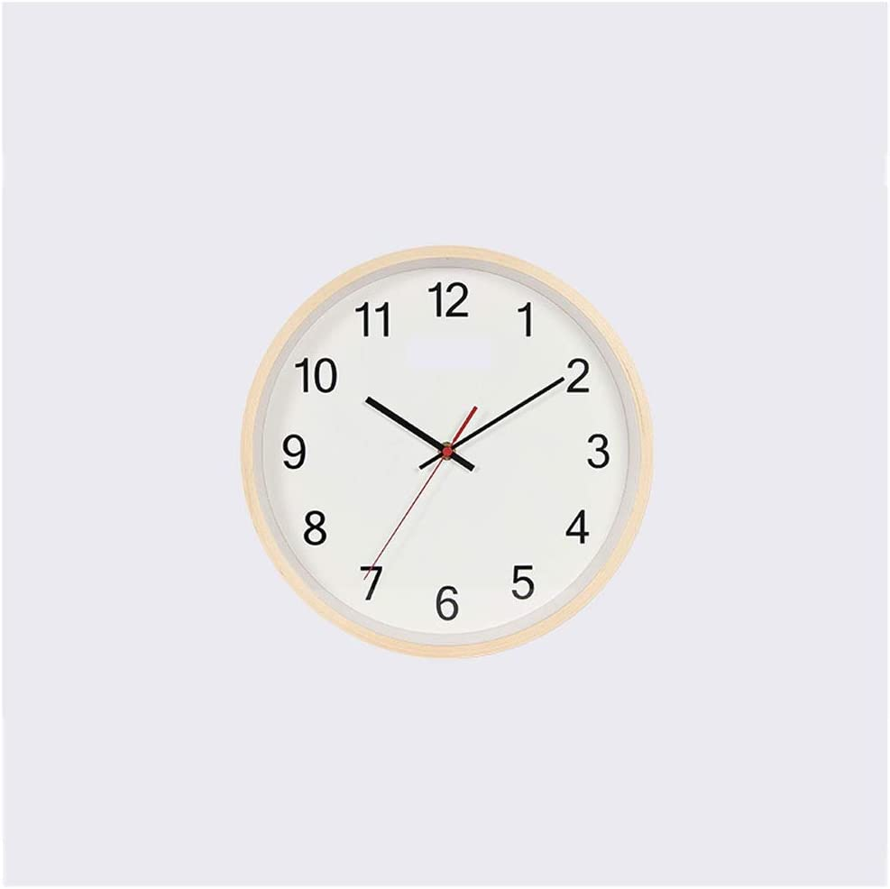 San Antonio Mall OMYLFQ Clocks for Living Room Manufacturer direct delivery Decor Clock Simple Modern Wall Chi