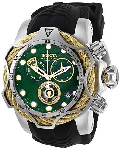 Invicta 27710 Montre chronographe pour homme avec cadran vert