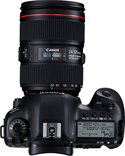 Canon EOS 5D Mark IV Full Frame Digital SLR Camera with EF 24-105mm f/4L IS II USM...