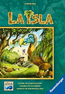 Ravensburger La Isla for Ages 4 & Up - Strategy Board Game of Exploration & Collection