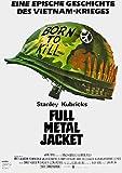 Full Metal Jacket (1987) | original Filmplakat, Poster [Din