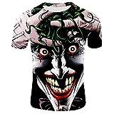 Camiseta Jocker, payaso   Impresion 3D