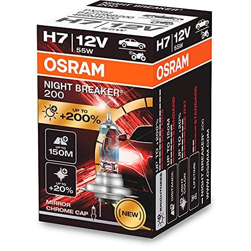 Osram Night Breaker 200 Laser Halogen Birne - H7-12V/55W - pro stück