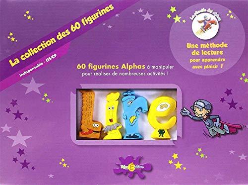 RECREALIRE Collection des 60 Figurines
