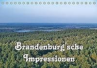Brandenburg'sche Impressionen (Tischkalender 2022 DIN A5 quer): Viel Wasser und viel Wald und viel flaches Land und mittendrin Berlin, das ist das Land Brandenburg. (Monatskalender, 14 Seiten )