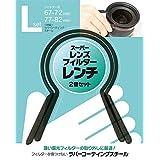 JAPAN HOBBY TOOL スーパーレンズフィルターレンチ Lセット 67-72mm / 77-82mm (2個入) JHT6782