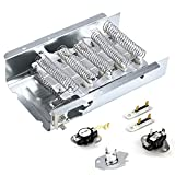 Appliance parts 279838 dryer heating element & 3977767 & 3392519 dryer Thermal Fuse & wp3387134 & 3977393 Thermostat